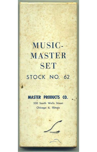 The cover box for the Music Master™ Set.