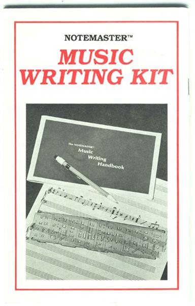 Instruction booklet for the Notemaster™.